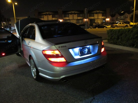 Mercedes - C300 - error - free - LED - bulbs - 4